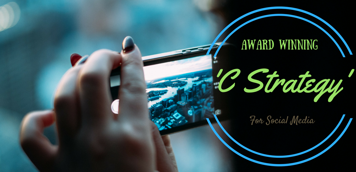 award winning 'C' Strategy for social media