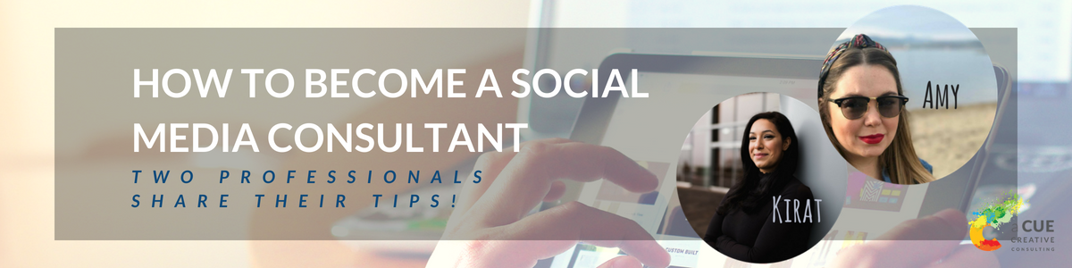 Social Media Consultant - a Cue Creative Marketing and Consulting Vancouver, B.C.